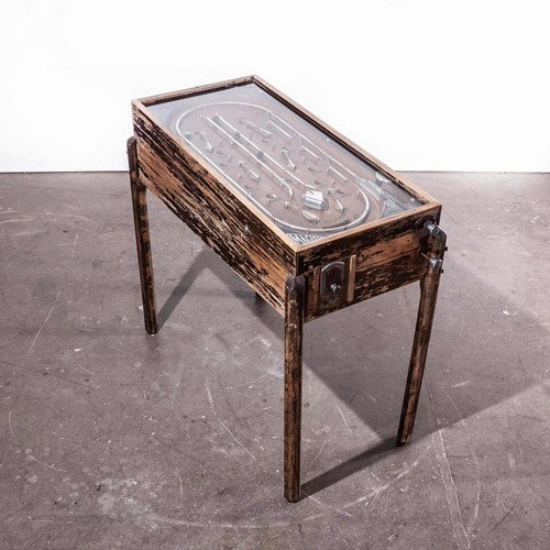 1930's  Working French Magister Pinball Table