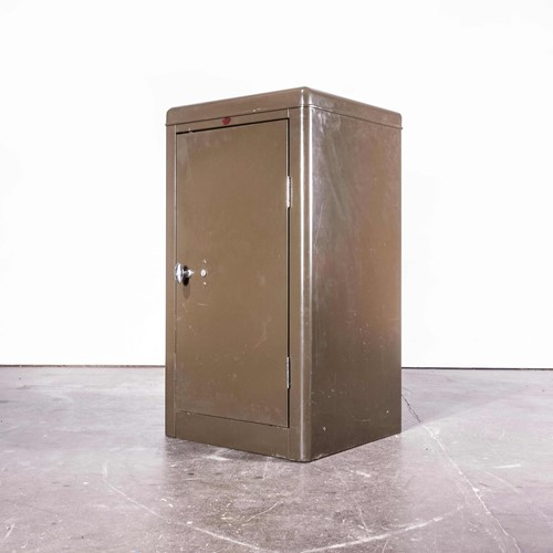1950's Original Howden Lockable Metal Cabinet