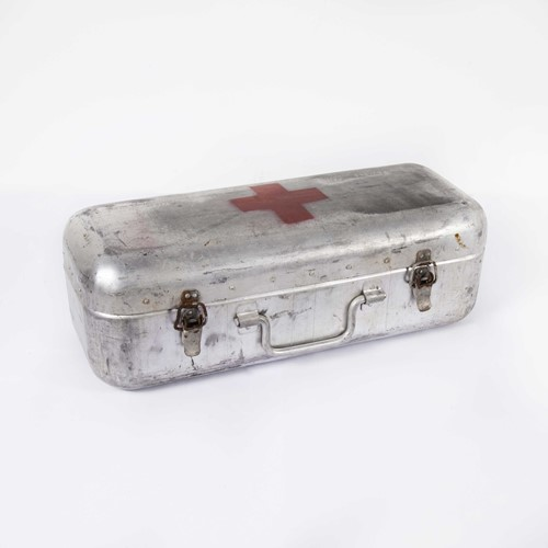 Aluminium Original Red Cross Survival Rations Box