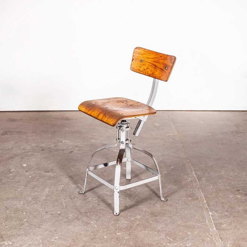 1950's French  Desk Chair Light Grey Frame-merchant-found-7002y-main-637190841004558590.jpg