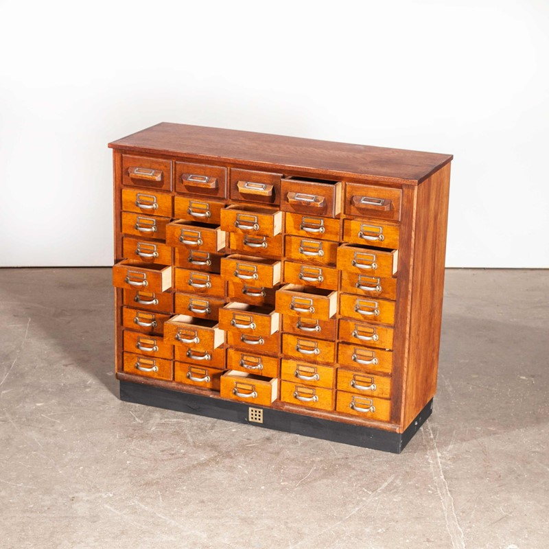 1950's Oak Chest Of Drawers - Forty Five Drawers-merchant-found-756y-main-637190876835796816.jpg