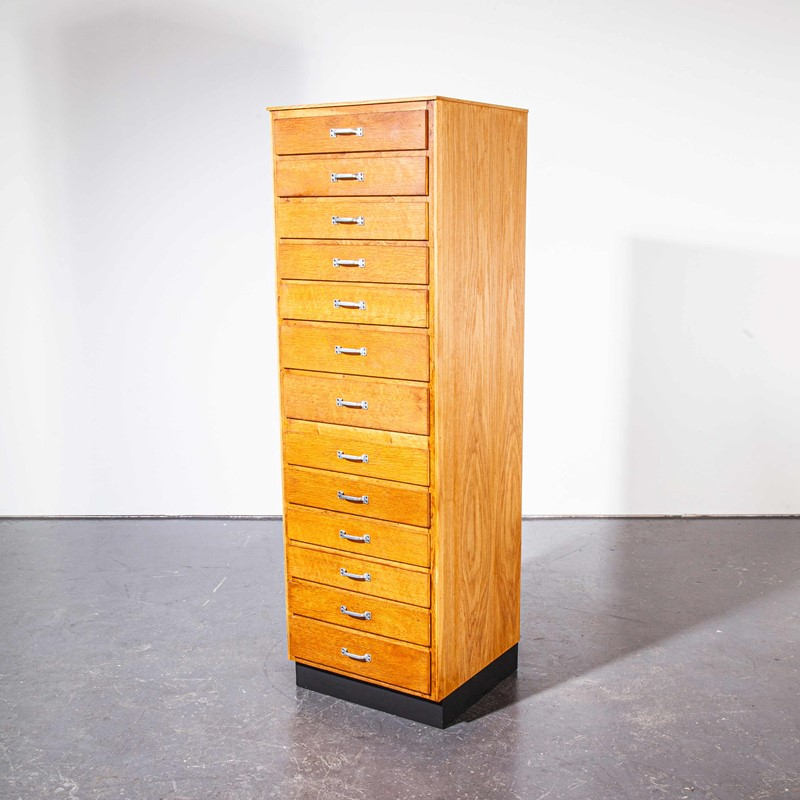 1950's Tall Oak Apothecary Chest Of Drawers-merchant-found-757y-main-637250478567623483.jpg