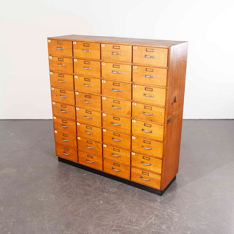 1950's Oak Apothecary Multi Drawer Chest of Drawer-merchant-found-761y-main-637290528612393880.jpg