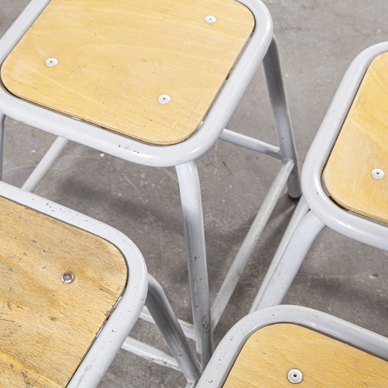 1960's Mullca Low Stool Grey - Set Of Four-merchant-found-7944a-main-637365375080227999.jpg