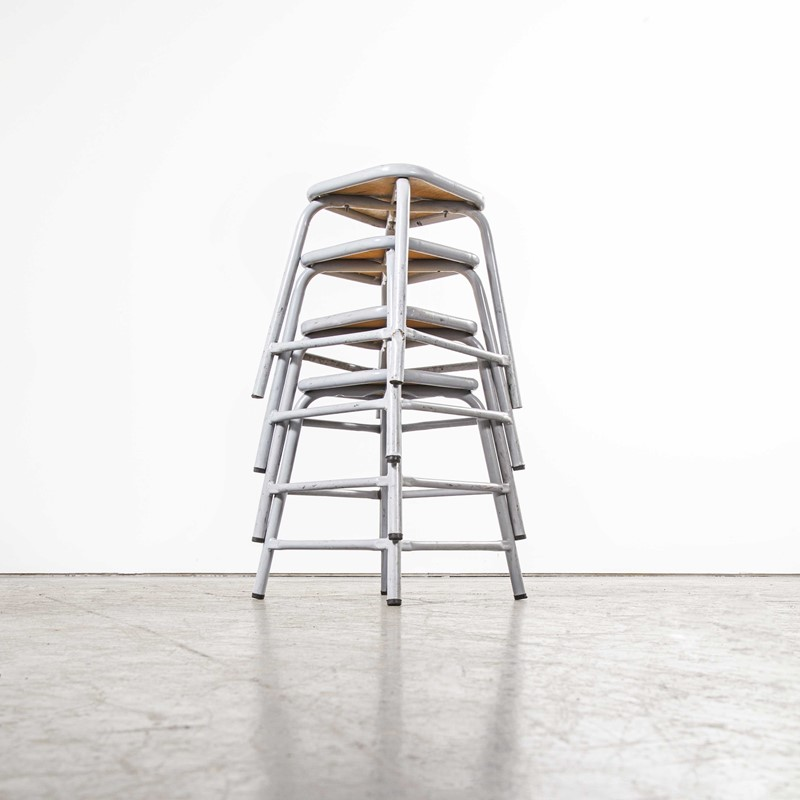 1960's Mullca Low Stool Grey - Set Of Four-merchant-found-7944b-main-637365375105852489.jpg