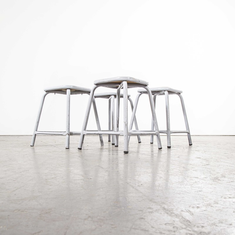 1960's Mullca Low Stool Grey - Set Of Four-merchant-found-7944e-main-637365375173821456.jpg