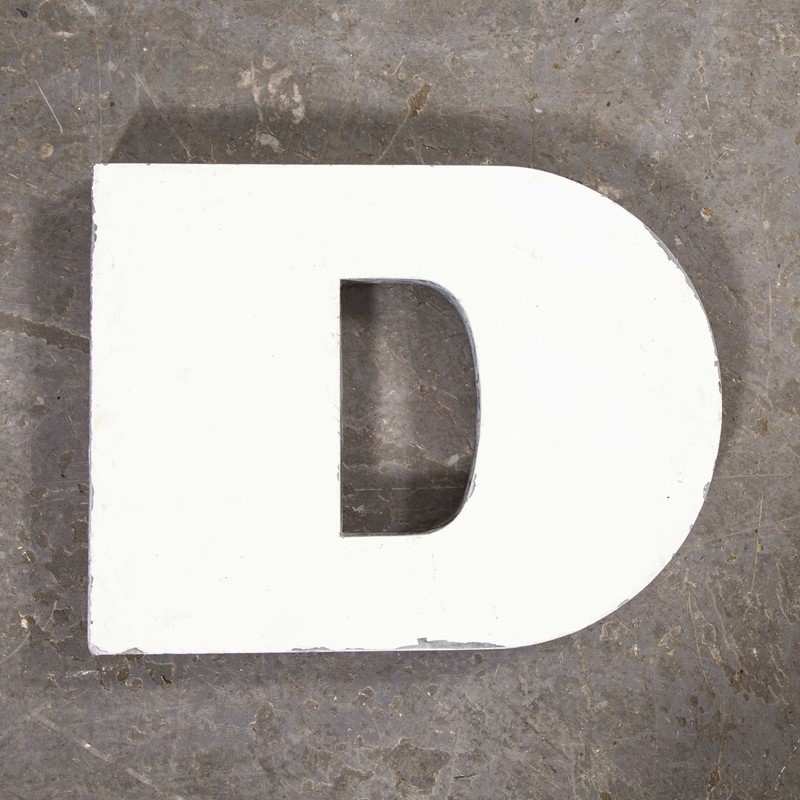 1950's French Zinc Letters - Letter White D-merchant-found-8228y-main-637419019503460695.jpg