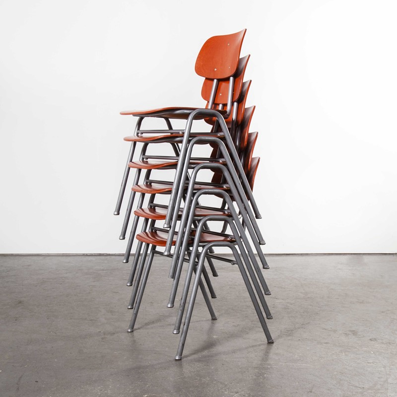 1960's Red Stacking School Dining Chair Set Of Six-merchant-found-9276e-main-637407837153843845.jpg