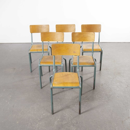 1950's French Mullca Chairs Model 510/1 Set Of Six