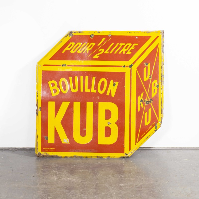 Large Bouillon KUB French Enamel Advertising Sign-merchant-found-945y-main-637425840096885710.jpg