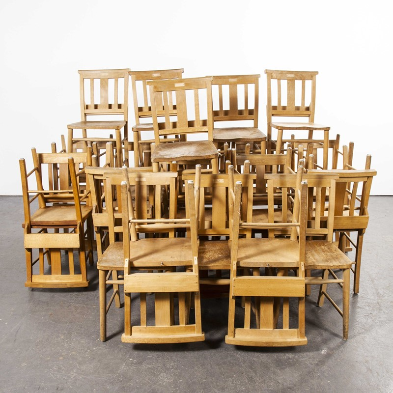 1960's British Beech Chairs - Lot Of Thirty Chairs-merchant-found-94630y-main-637425047024670690.jpg