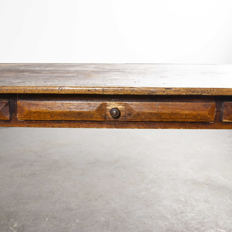 1950's French Rectangular Bobbin Leg  Table-merchant-found-997d-main-637460534711950894.jpg