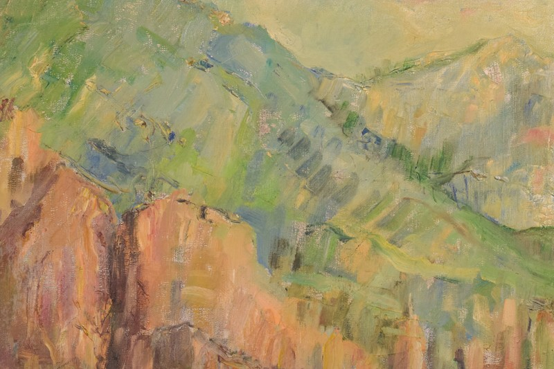 Impressionist seascape with cliffs. Oil on canvas.-modern-decorative-743-impressionist-seascape---close2-main-637463084468513470.jpg