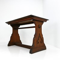 19th Century Pitch Pine Altar Table