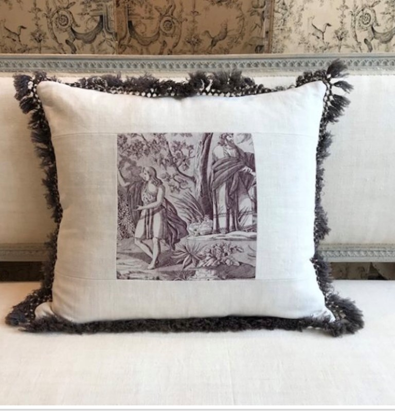 Antique Toile de Jouy cushion-nikki-page-antiques-fullsizeoutput-1502-main-637406339692602982.jpeg