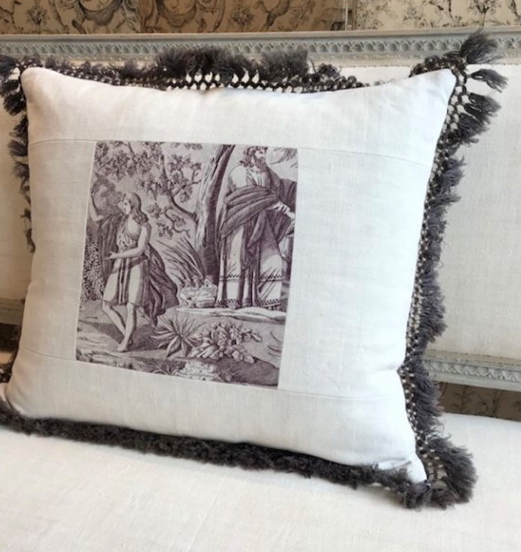 Antique Toile de Jouy cushion-nikki-page-antiques-fullsizeoutput-1505-main-637406339998382375.jpeg
