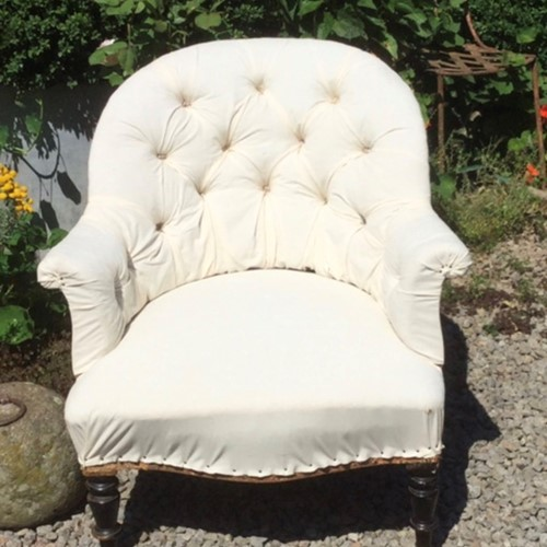 Pretty Napoleon III French chair