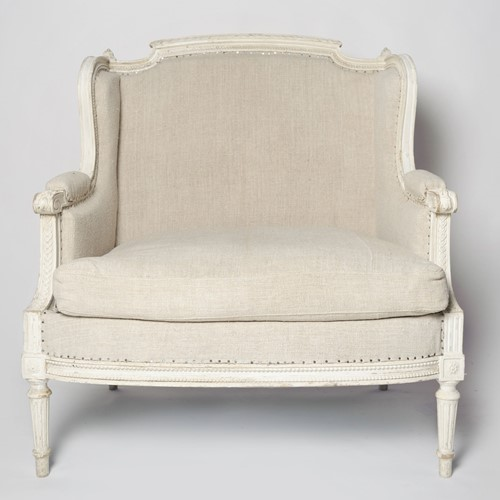 Antique French Marquise chair