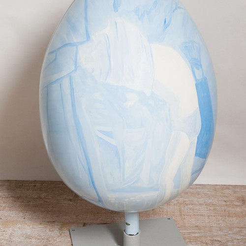 Cecily Tattersall giant egg. Happy Easter