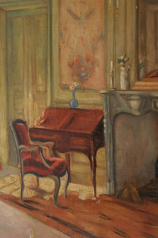 Antique interiors oil on canvas painting-nikki-page-antiques-npnov19-48-main-637117812264574258.jpg