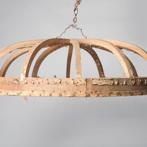 Antique French bed crown