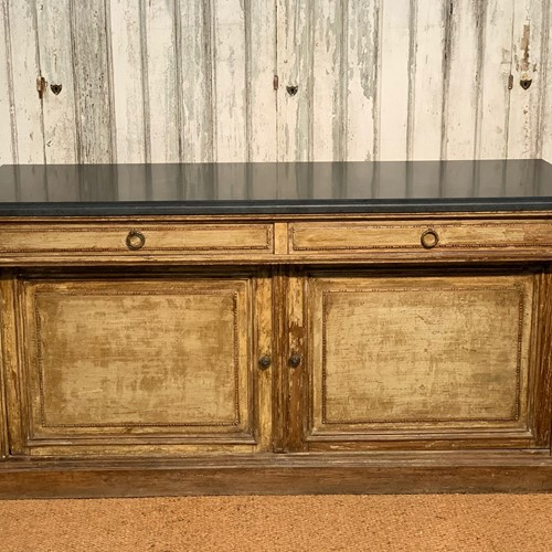 Attractive pine buffet - slate or marble top