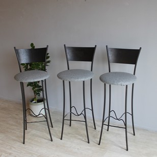 Set of three Bar stools by Rob Mulholland