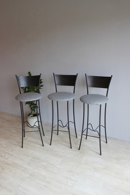 Set of three Bar stools by Rob Mulholland-norfolk-decorative-antiques-IMG_8424_main_636341784414288552.jpg