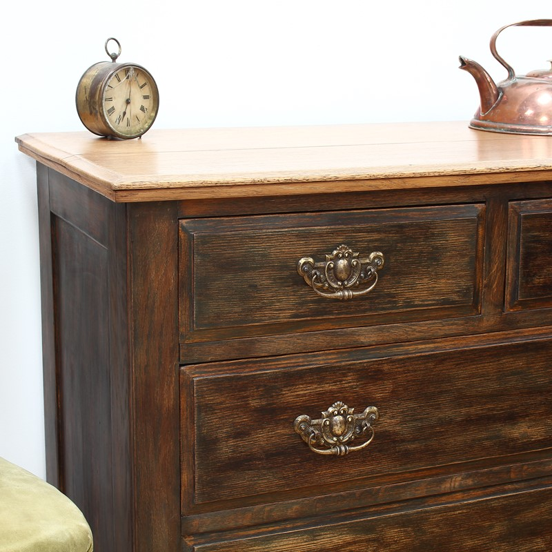 Painted Edwardian Oak Chest of Drawers-number-6-antiques-img-3444-main-637327558755313052.JPG
