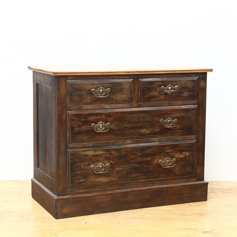 Painted Edwardian Oak Chest of Drawers-number-6-antiques-img-3492-main-637327559528749040.JPG