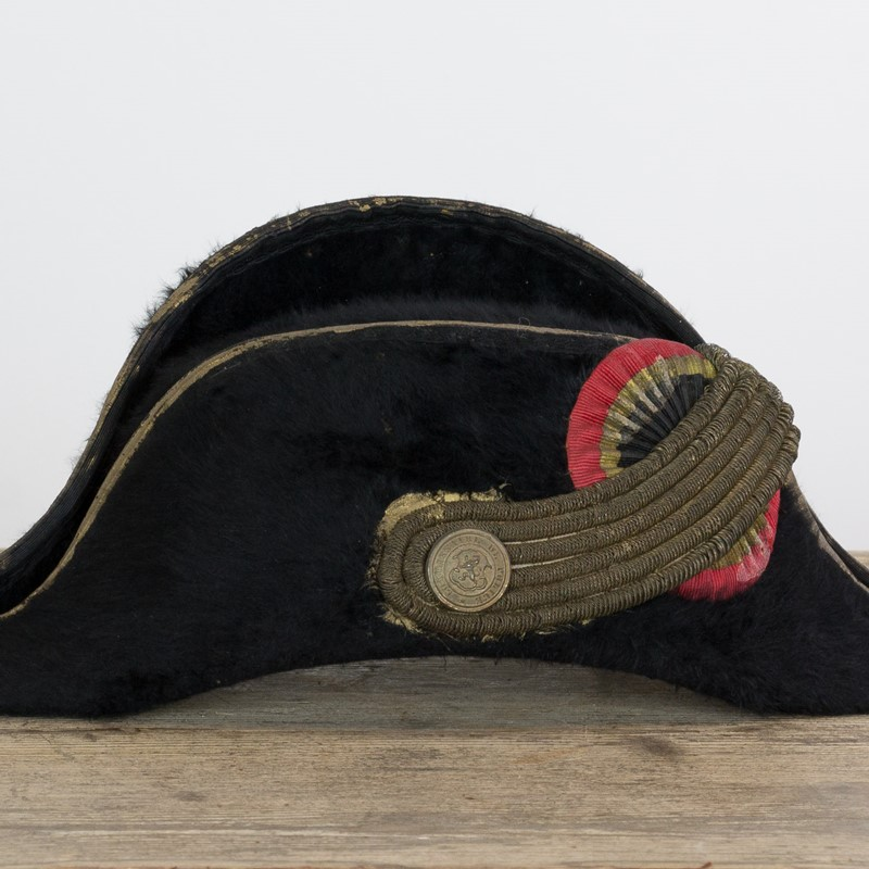 19th century French police officers bicorne hat-old-goods-19th century French police officers bicorne hat2-main-636748687454428190.jpg