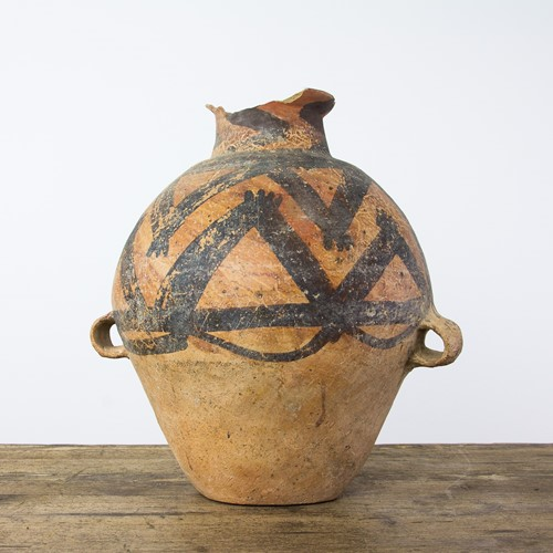 Very old Majiayao culture pot 3300 to 2000 BC.