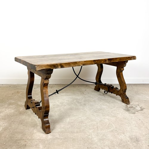 Antique style spanish dining table