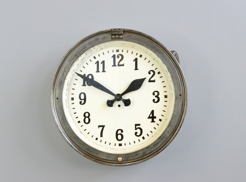 German Factory Clock Circa 1920s-otto-s-antiques--dsc3901-main-637493392637951658.JPG