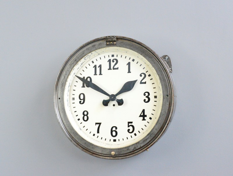 German Factory Clock Circa 1920s-otto-s-antiques--dsc3912-main-637493392672326318.JPG