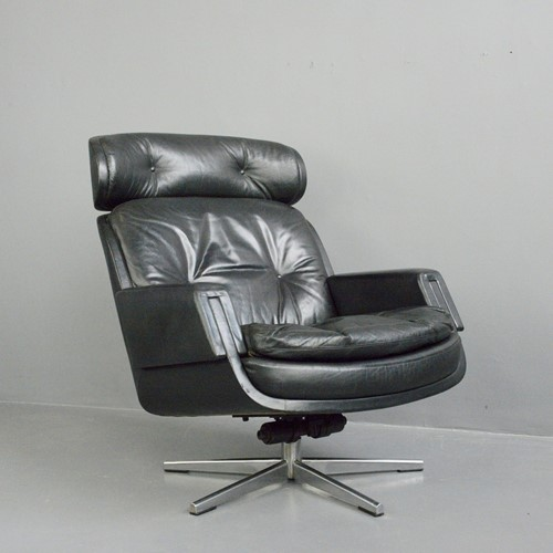 Mid Century Lounge Chair By Kurt Hvitsjö For Isku