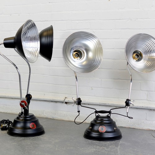 Medical Lamps By Perihel Circa 1930s