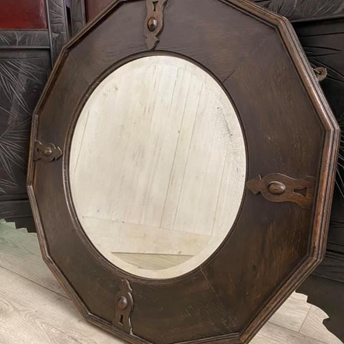 Dodecagon Bevelled Edge Mirror