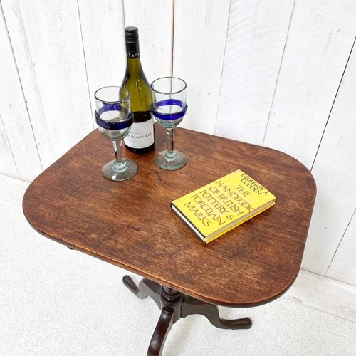 Georgian Tilt Top Side Table