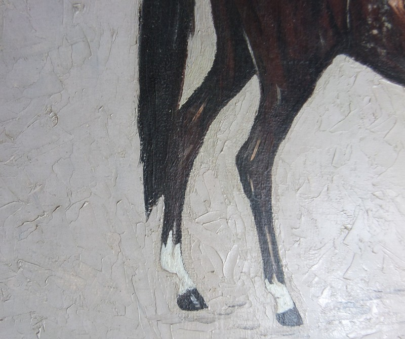 Mid century oil painting of a Horse-poachers-barn-SAM_7994-main-636728814232108232.JPG