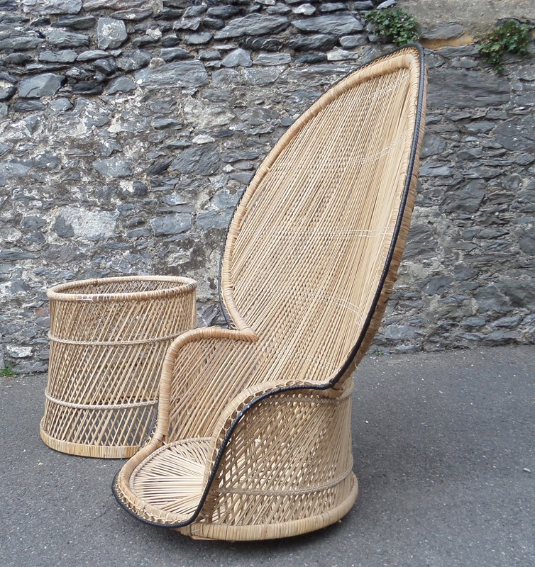 Rattan & cane 'peacock' fan chair -poachers-barn-SAM_8247-main-636750450557443232.jpg
