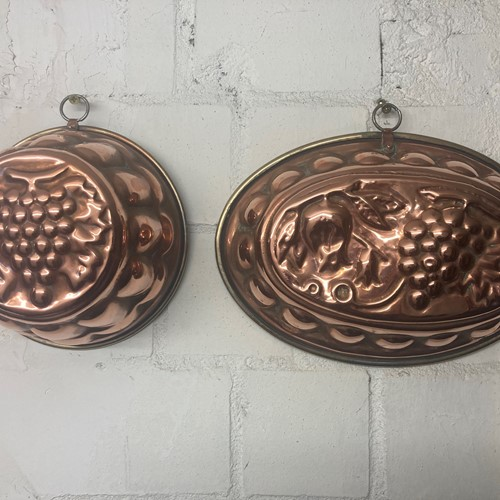 Victorian Copper Moulds