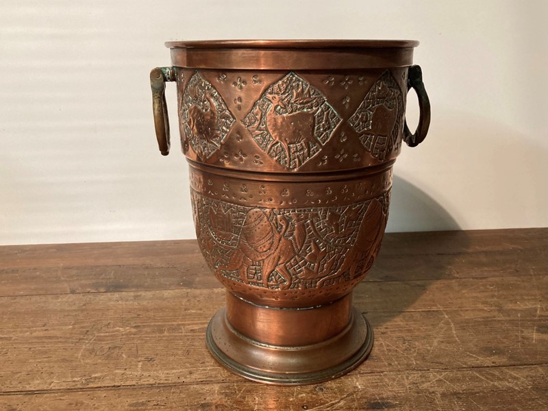 Arts and crafts copper champagne cooler -pretty-blue-floral-pretty-blue-floral-899ce8cc-2b1f-47da-8fbd-9279e0e002f3-main-637469093208634762-large-main-637469125337251137.jpeg