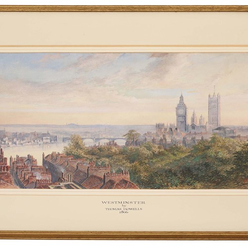 Victorian watercolour painting Thomas Howells
