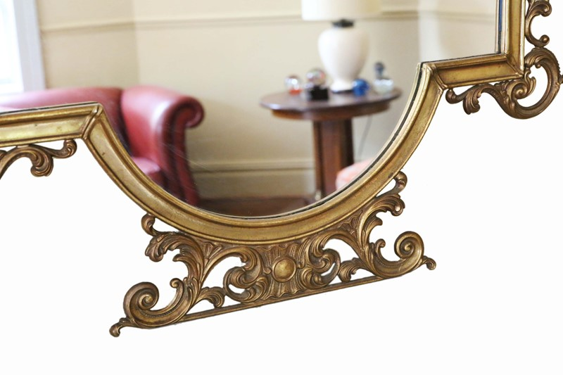 Antique large quality early 20th C brass mirror-prior-willis-antiques-7376-3-main-637040447735918139.jpg