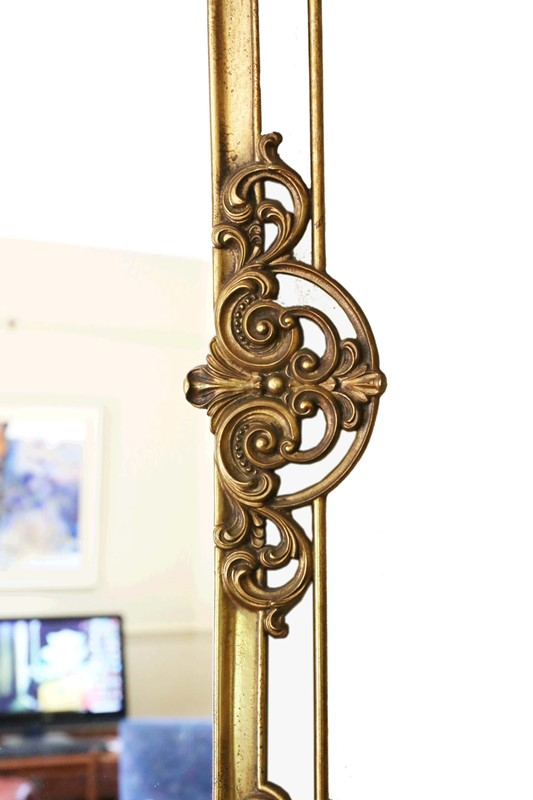 Antique large quality early 20th C brass mirror-prior-willis-antiques-7376-5-main-637040447772793088.jpg