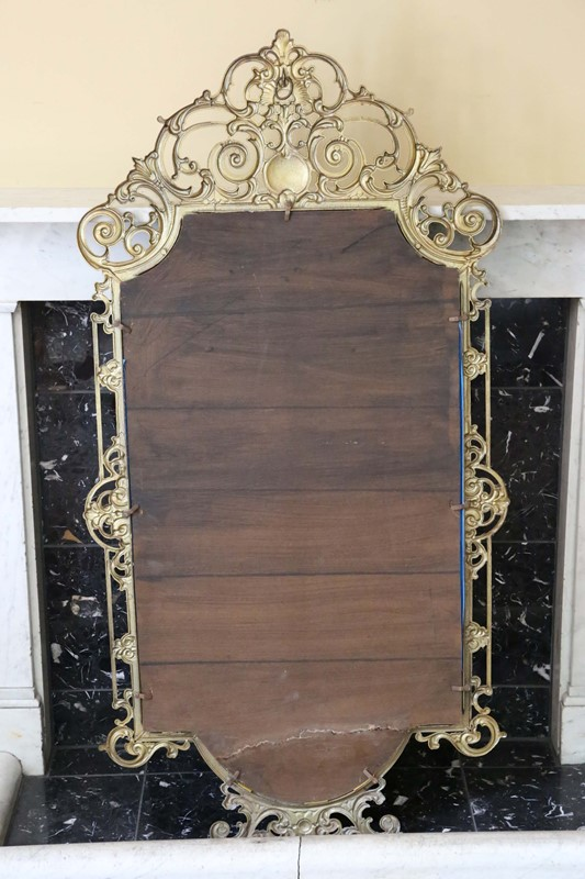 Antique large quality early 20th C brass mirror-prior-willis-antiques-7376-6-main-637040447790761703.jpg