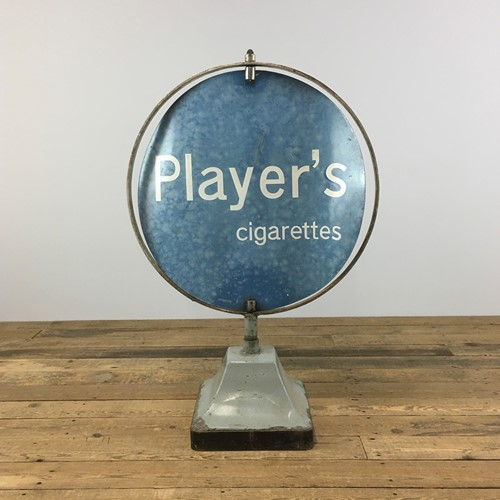 Rotating Shop Sign – Players
