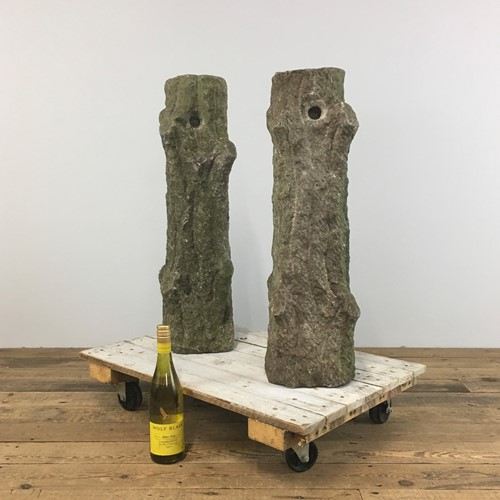 Stone Bollards / Posts – Pair