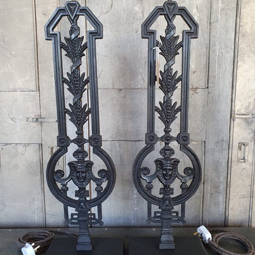 Victorian Balustrade Lamps